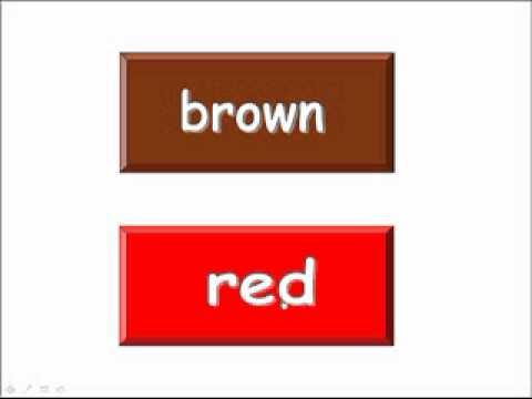 Bài 3  Những sắc màu của em My Colors » Tiếng Anh trẻ em » Bài học 2