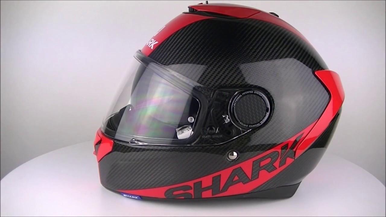 shark spartan carbon skin drr helmet champion helmets. Black Bedroom Furniture Sets. Home Design Ideas