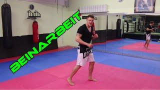 BEINARBEIT im Kampfsport - Im Kampf richtig bewegen