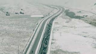 California storm US weather forecast - SNOW and floods on way to Los Angeles