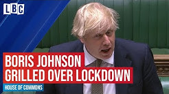 Boris Johnson faces questions from MPs over lockdown | Watch live on LBC