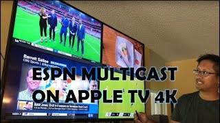 ESPN Multicast Apple TV 4k