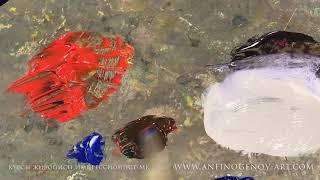 Цветовой круг для живописи.www impressionist-mk.com Курсы живописи в Москве.