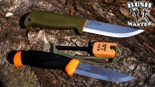 Нож Morakniv Companion против Cold Steel Finn Hawk. Ножи для леса.