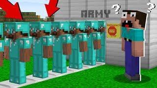 Clone army PRO! in Minecraft Noob vs Pro