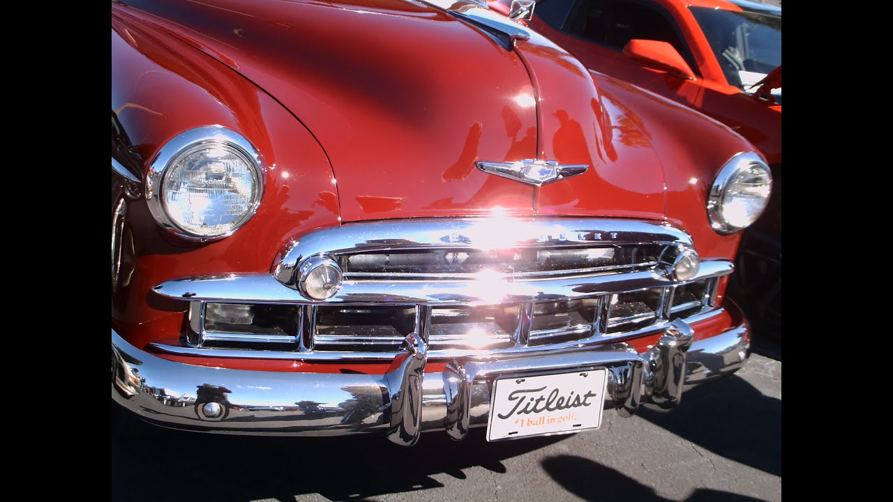 1949 Chevy Styleline Sport Coupe Red Vgeustis1101114 Youtube Deluxe