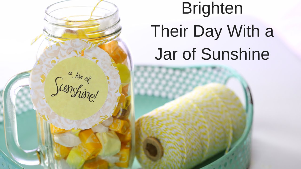 Give Mom A Jar Of Sunshine This Year