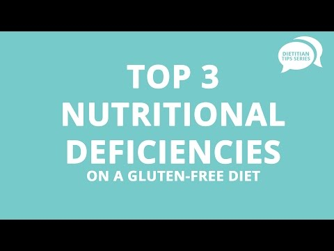 Top 3 Nutritional Deficiencies on a Gluten-Free Diet