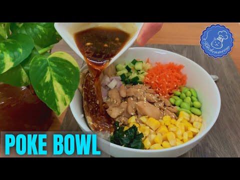 Delicious Chicken Poke Bowl Recipe