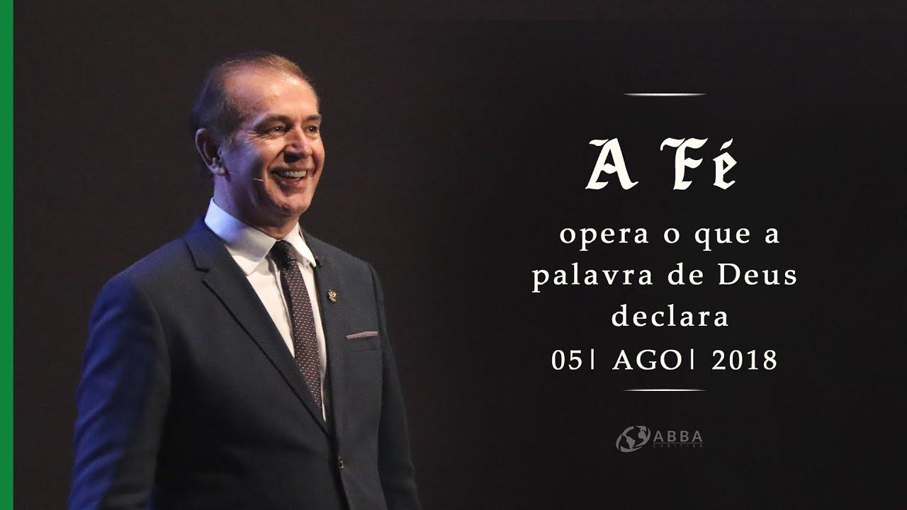 A fé opera o que a palavra de Deus declara  - Pio Carvalho