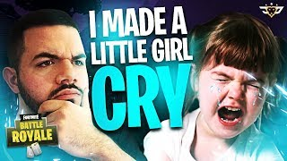 I MADE A LITTLE GIRL CRY! ***NOT CLICKBAIT*** - Random Duos! (Fortnite: Battle Royale)