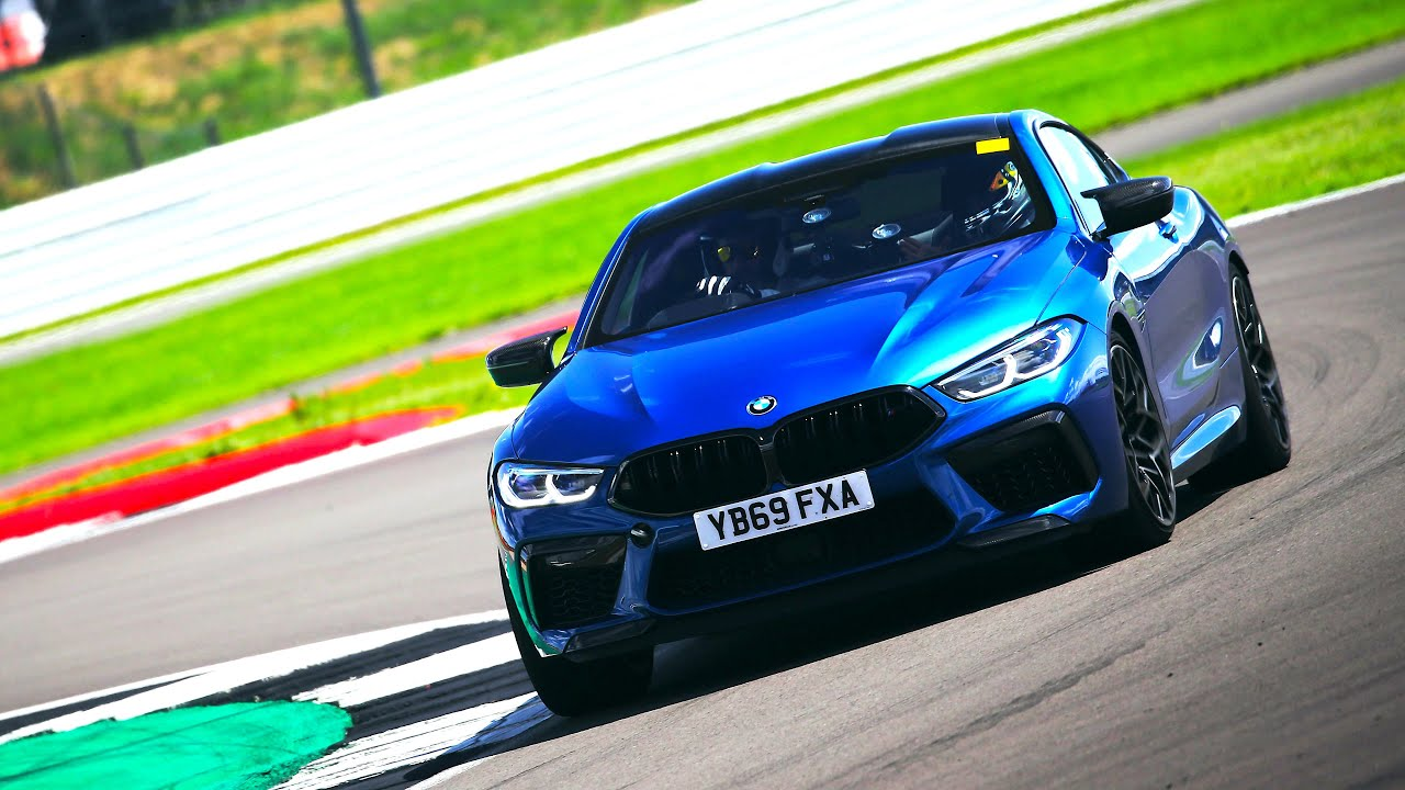 60 seconds slower than an F1 Car! BMW M8 Competition lap at Silverstone