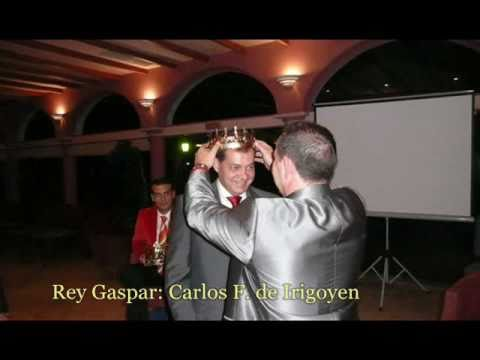 Coronación de los Reyes Magos 2010. Sanlúcar la Mayor.