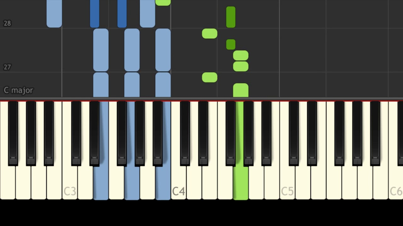 Russia - Katyusha - Easy Piano Music - EASY