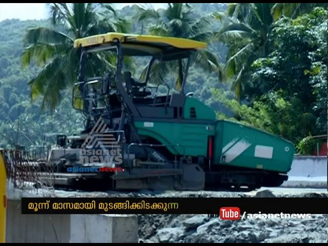 Kuthiran tunnel construction stopped due employee wage issue