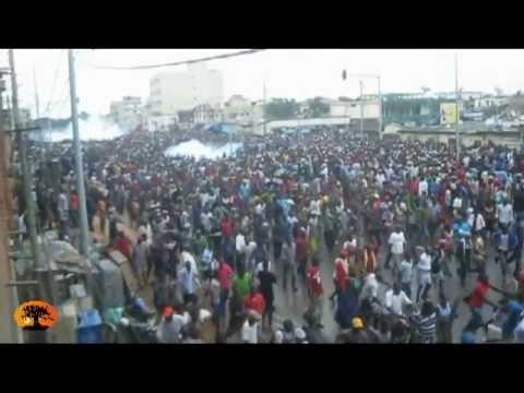 Sit-in Sauvons le Togo: un gaz non-conventionnel, une catastrophe évitée par miracle [12/06/2012]