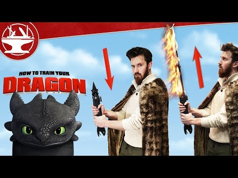 Extendable FIRE SWORD from How To Train Your Dragon!