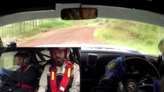 2014 Speyside stages SS2(Crash) - Mk2 Escort - Scott Kerr & Rod Manson