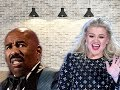 STEVE HARVEY CHASTISED AND OUSTED FROM HIS SHOW AND REPLACED BY KELLY CLARKSON