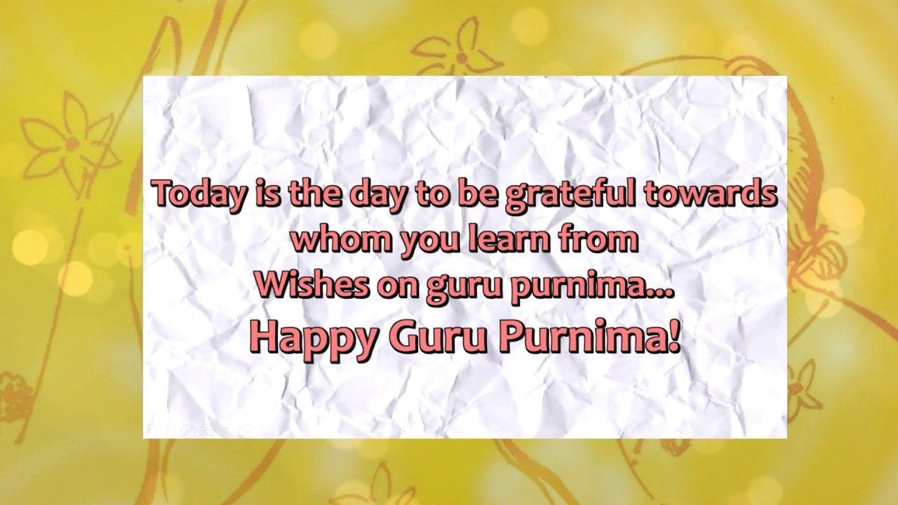 Guru purnima greetings l digital greeting cards youtube guru purnima greetings l digital greeting cards m4hsunfo