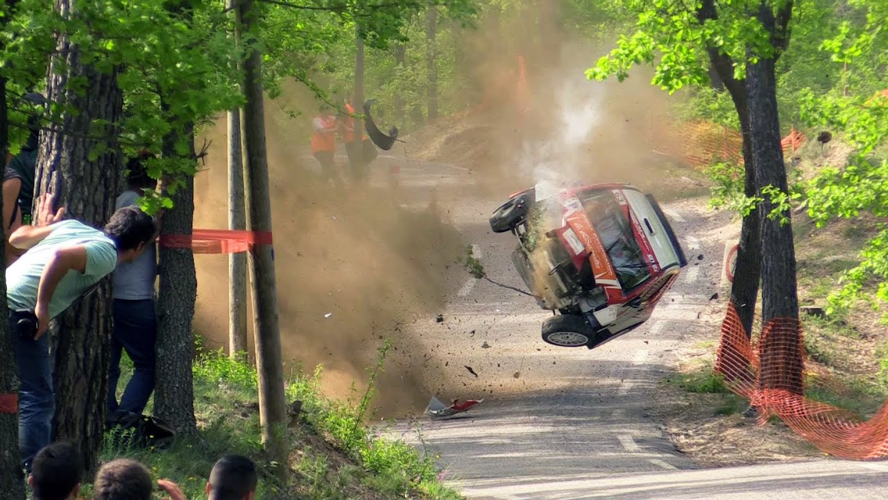 Rally Car Crashes On Youtube