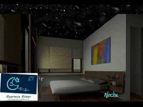 Estrellas en el techo de tu habitacion simulador cosmico for Simulador decoracion
