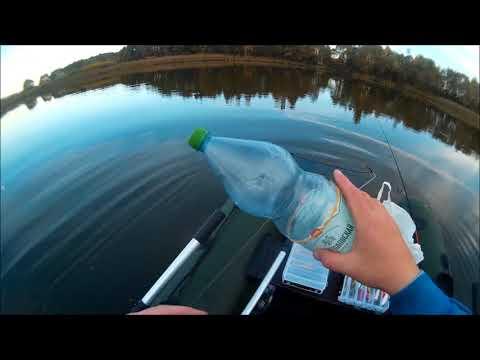Рыбалка жерлицы на щуку из бутылки