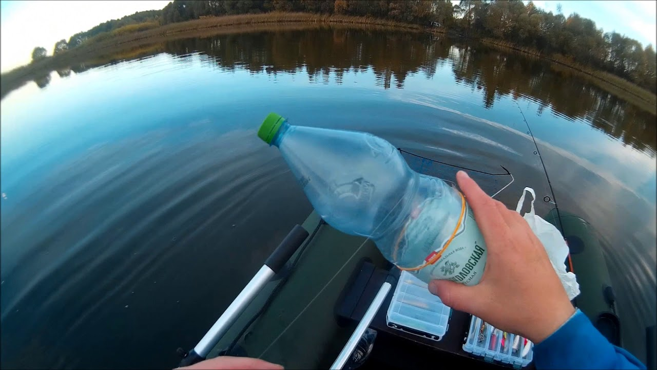 Сом ловля на бутылку
