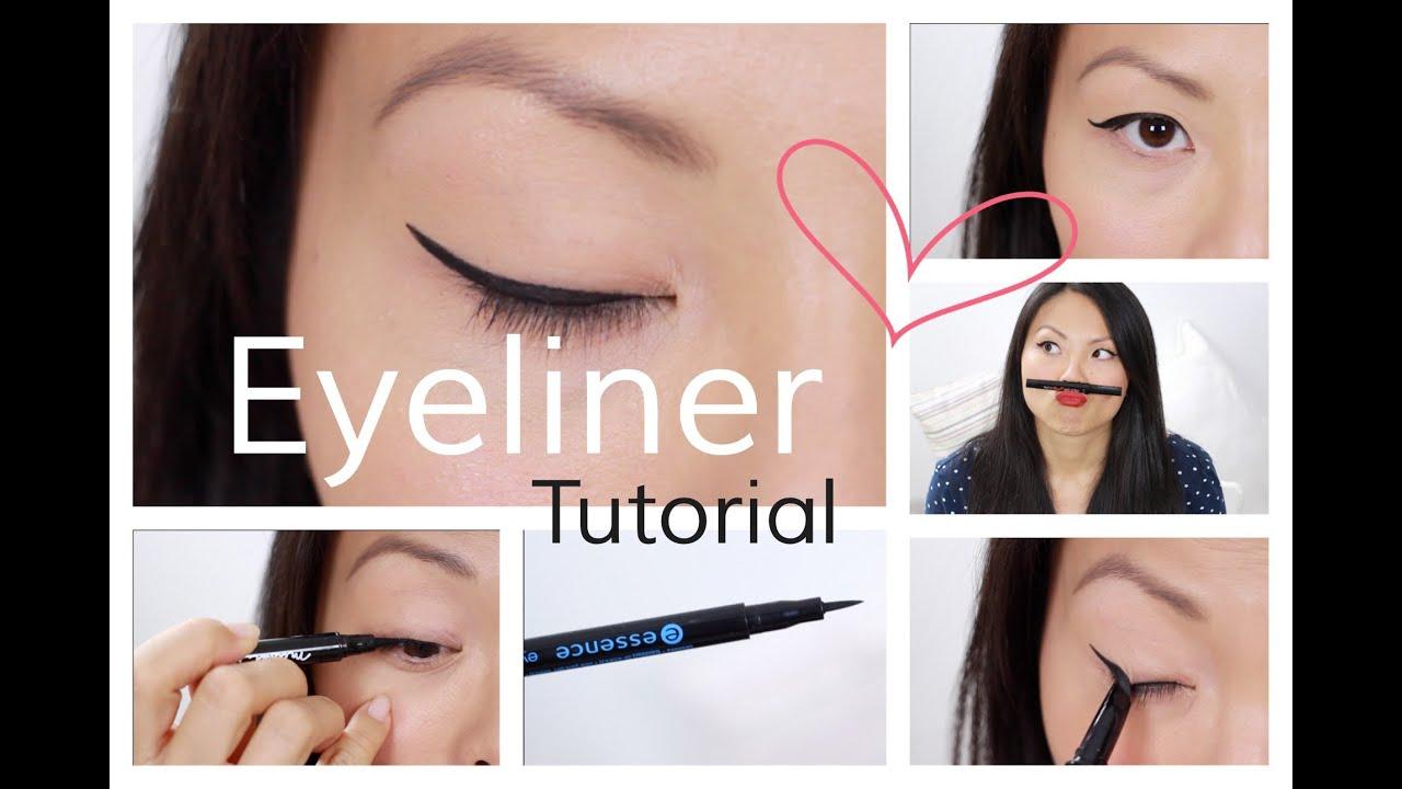 eyeliner tutorial f r schlupflider monolids youtube. Black Bedroom Furniture Sets. Home Design Ideas