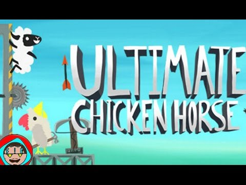 Ultimate Chicken Horse  FWF #1 - Losing Badly at UCH Party Mode  (w Maithiu)