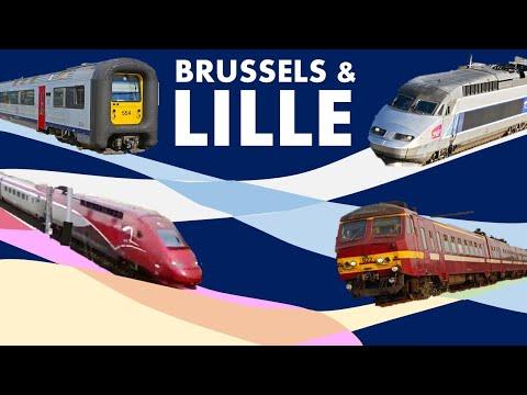 Epic International Train Trip: Brussels & Lille!