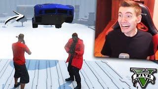GTA V Online: SNIPER vs SUPER CARROS - O TIRO da MITADA!!!