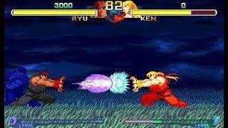 [TAS] Ryu VS Ken (Street Fighter Alpha 2) [PARTE 2]