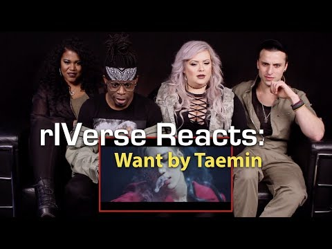 rIVerse Reacts: Want by Taemin - M/V Reaction