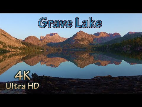 The Wind's Best Fishing And Backpacking Camping/Wyoming Off-Trail Hiking To Fish Mountain Lake/4K