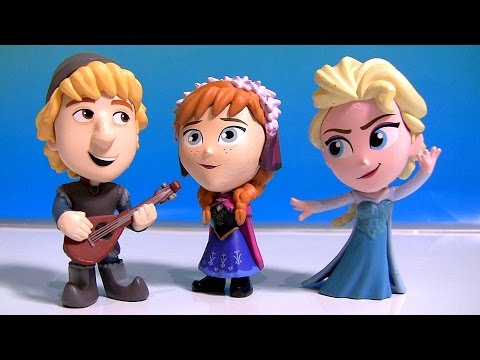 Disney Frozen Mystery Minis Surprise Boxes 2 Exclusive Vinyl Princess Anna Kristoff Elsa Olaf Ice