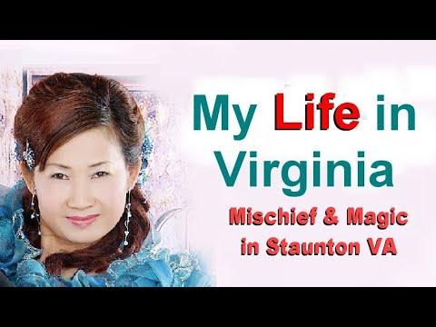 Li W TV - Mischief & Magic in Staunton VA【家在美国34】利生活频道 美国皇后城市著名电影Harry Potter恶作剧和魔术节