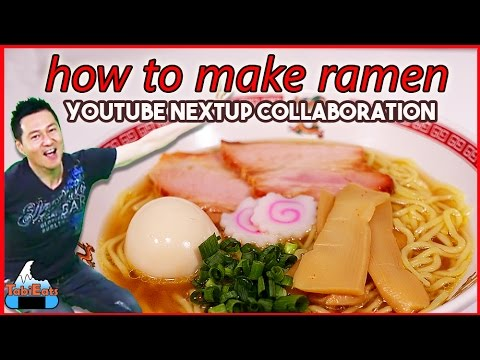 How to make shoyu ramen recipe collaboration youtube forumfinder Gallery