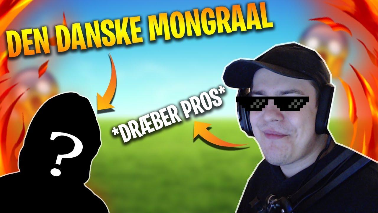 SPILLER PRO GAME MED DEN DANSKE MONGRAAL I FORNITE!? (VIRKELIGT INTENST!)
