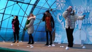 Новогодняя песня в исполнений вокальной группы Любава ( Шарыпово )