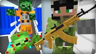 Выживший пилот самолета? [ЧАСТЬ 17] Зомби апокалипсис в майнкрафт! - (Minecraft - Сериал)