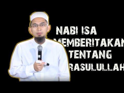 Nabi Isa As Memberitakan Tentang Nabi Muhammad ﷺ ||  Ustadz Adi HIdayat Lc MA