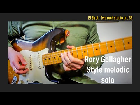 Big bends with this Rory Gallagher style solo