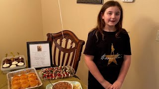 9-Year-Old's Incredibly Creative 'Hamilton' Party