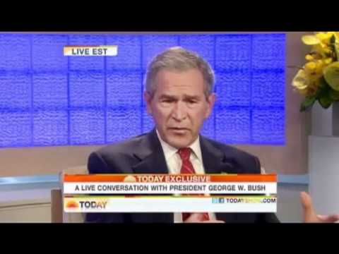 Kanye West Apologizes To George Bush! + Bush Responds! Good morning America