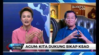 TNI Sanksi Anggota Akibat Istri Nyinyir di Medsos, Agum Gumelar: Kita Dukung Sikap KSAD