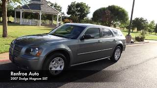 2007 Dodge Magnum SXT at Renfroe Auto