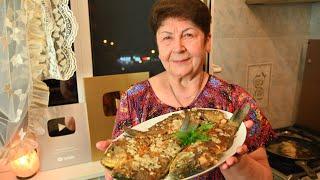 Как пожарить карасей без костей от Мамы @Мамины рецепты
