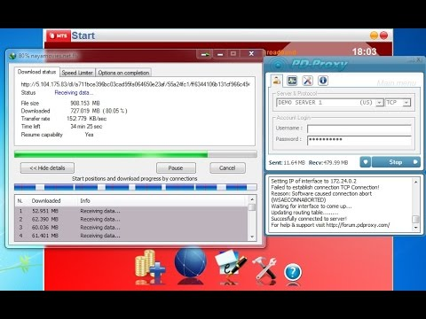 MTS Mblaze Unlimited Internet Hack With PD Proxy Demo Server