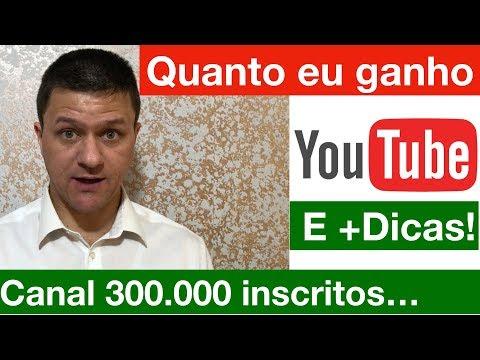 Quanto eu ganho no Youtube com 300 mil inscritos? Dicas para crescer o canal e ganhar mais!